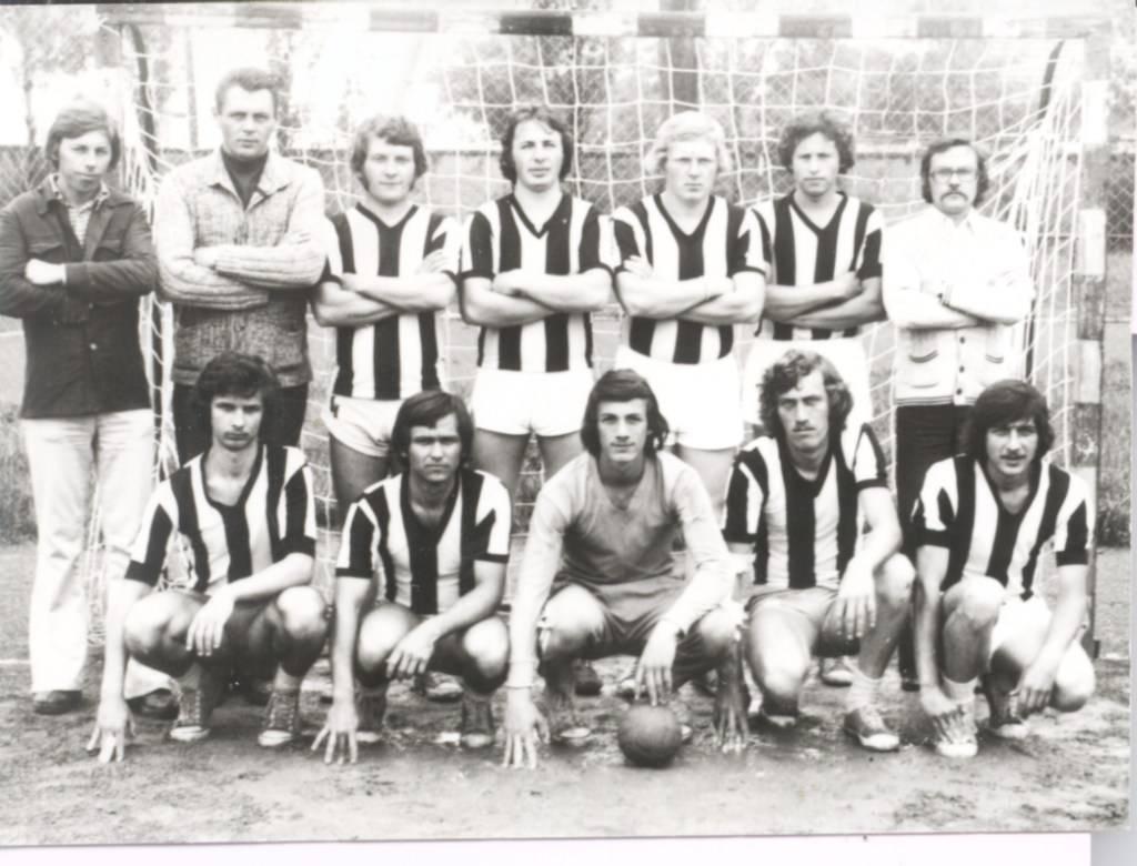 A KSK bajnokcsapata 1977-ben